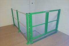 Barrera esclusa de seguridad